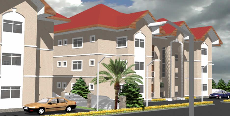 3 Bedroom Block Of Luxury Flats